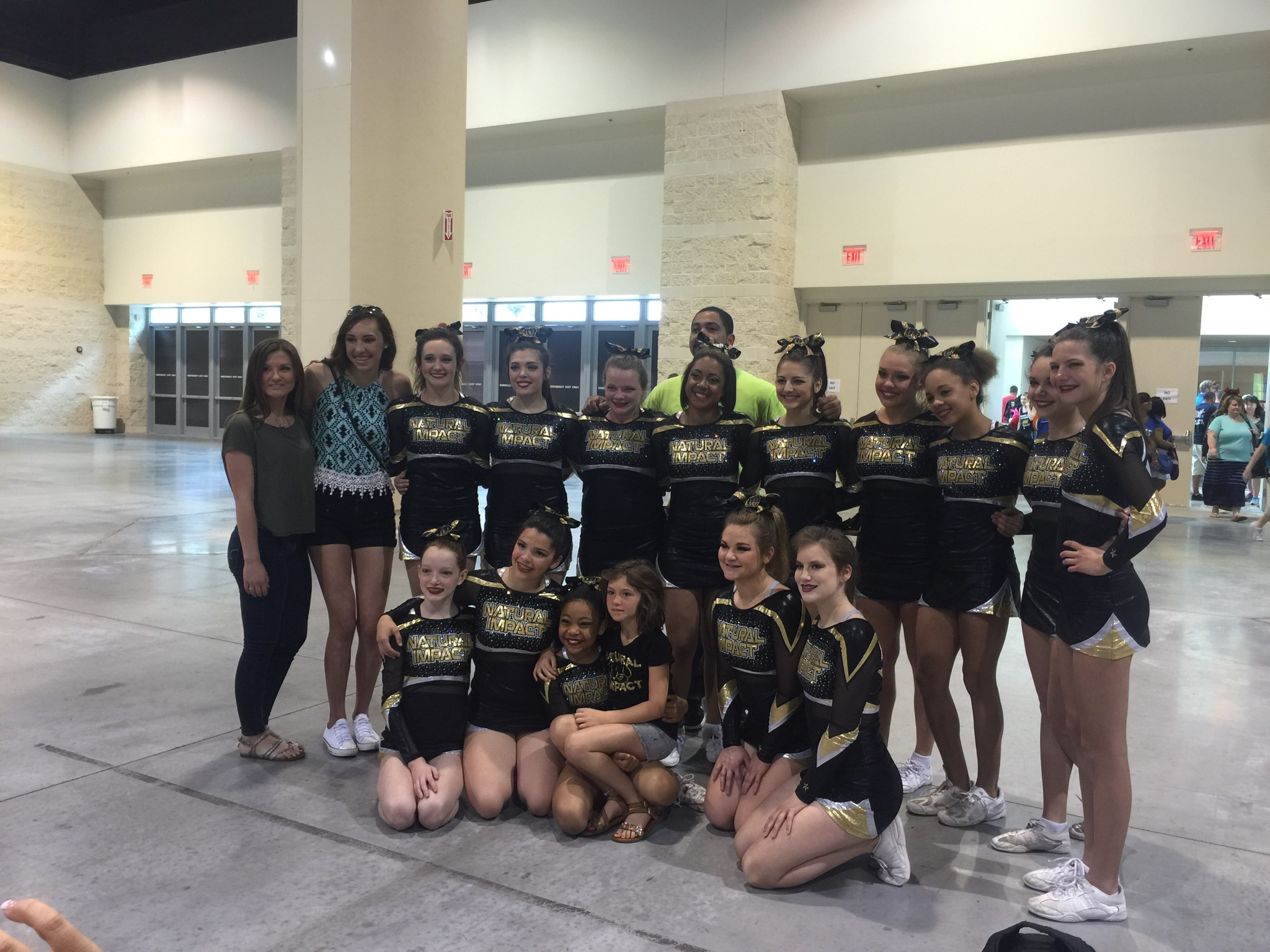 Girls Took It To Cheer Competition In Florida